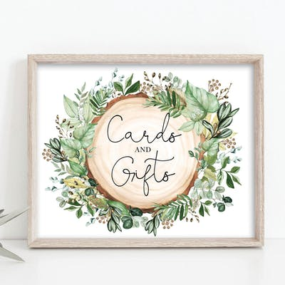 Cards & Gifts Sign