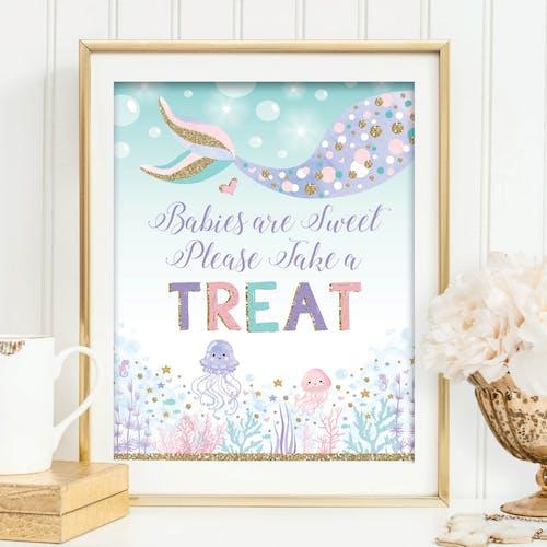 Take a Treat Sign