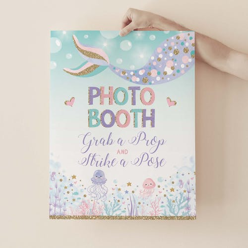 Photo Booth Party Sign