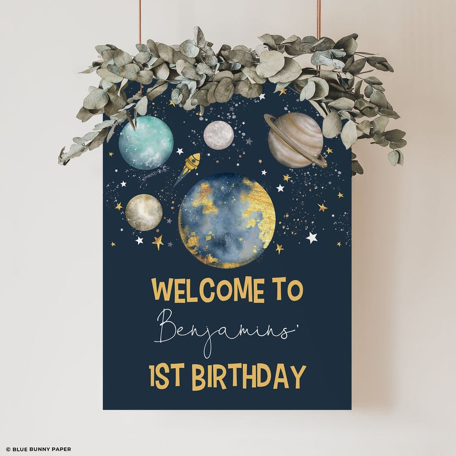 Birthday Welcome Sign