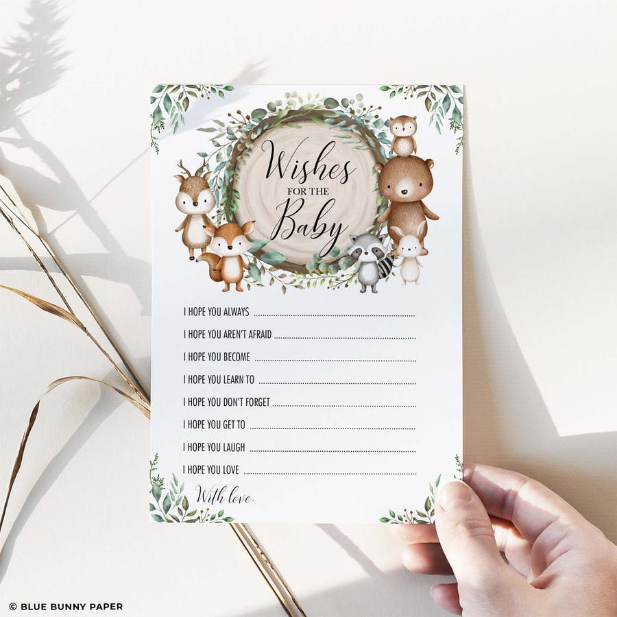 Wishes for Baby Card