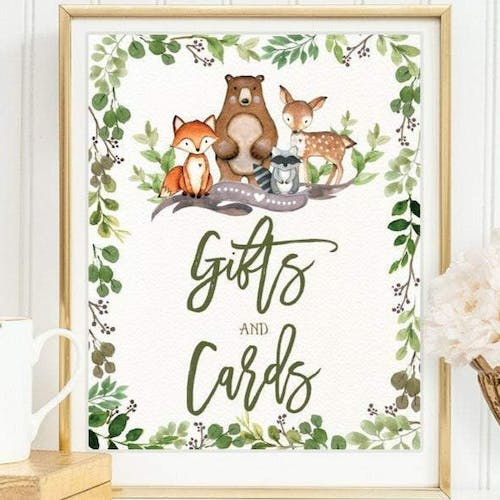 Gifts and Cards Sign