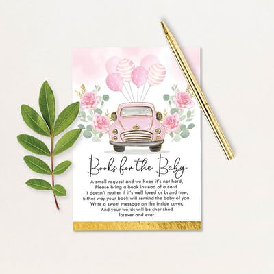 Book Request Card