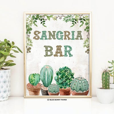 Sangria Bar Sign