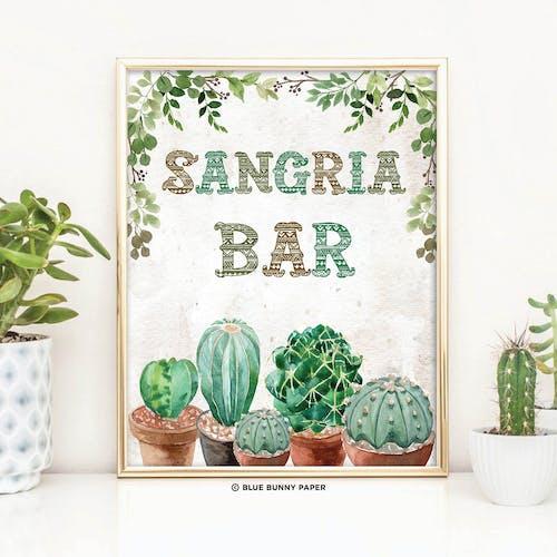 Sangria Bar Sign
