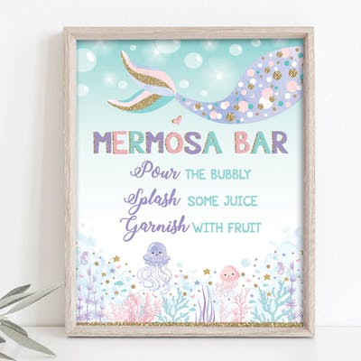 Mermosa Bar Sign