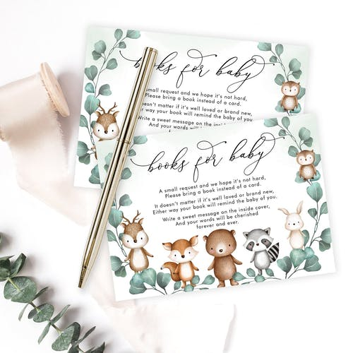Books for Baby Card