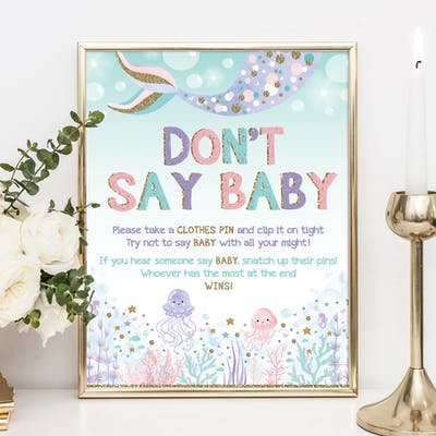Don't Say Baby Sign