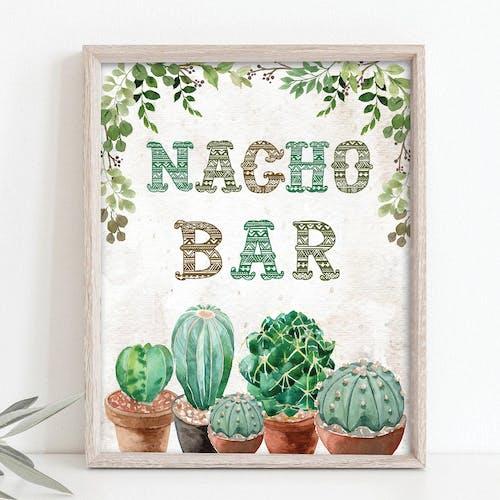 Nacho Bar Sign