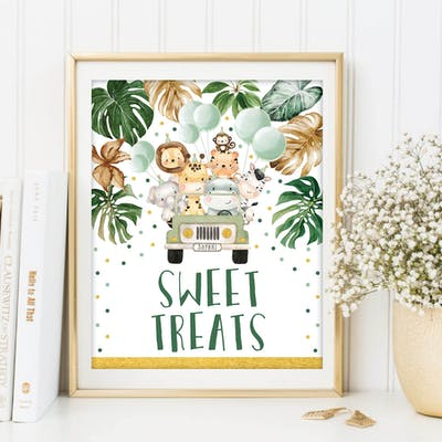 Sweet Treats Sign