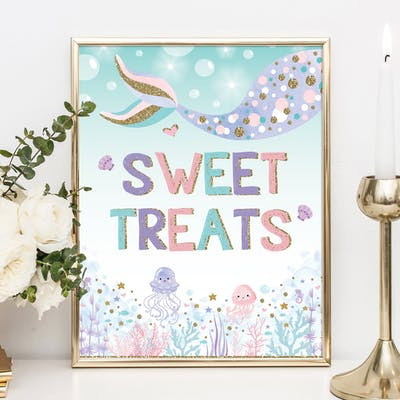 Sweet Treats Party Sign