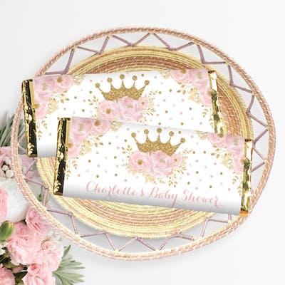 Princess Chocolate Bar Wrapper