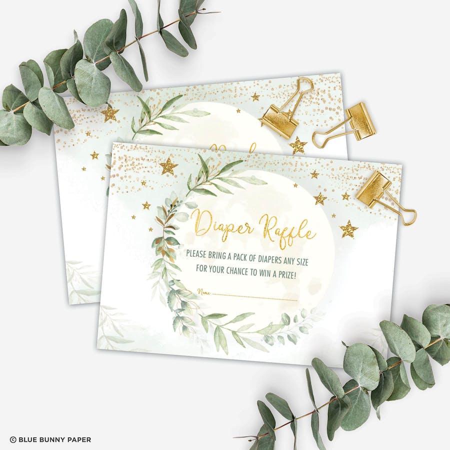 Diaper Raffle Insert Card