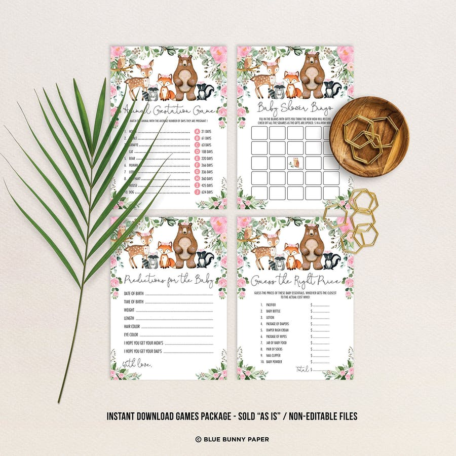 Baby Shower Games Package