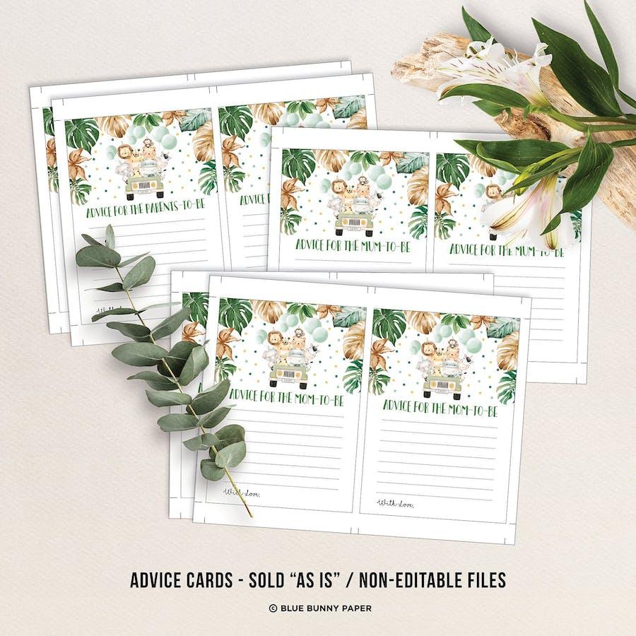 Advice for Parents Card