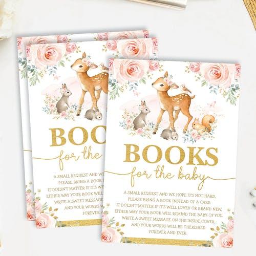 Books Request Card